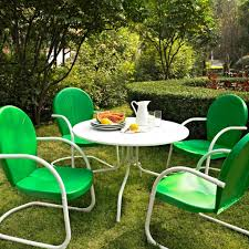 lime green patio furniture. Lime Green Metal Chairs With White Round Table For Contemporary Patio Ideas Furniture M