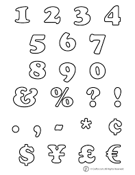 bubble numbers characters bubble numbers and characters woo! jr kids activities on 3 7 8 inch printable template