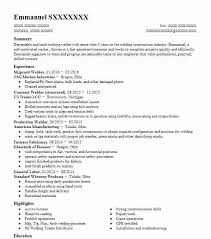 Shipyard Welder Resume Sample Welder Resumes Livecareer