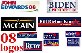 political campaign bumper stickers motherpie presidential campaign logos