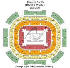 Mizzou Stadium Seating Chart Hearnes Center Tickets And Hearnes Center Seating Chart