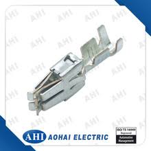 yueqing aohai electric co connectors auto connectors 927831 2 6 3 series auto female wire harness connector phosphor copper pin terminal