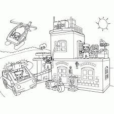 Kleurplaten Playmobil Politie