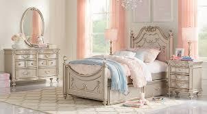 Disney Princess Silver 5 Pc Twin Poster Bedroom Girls Bedroom