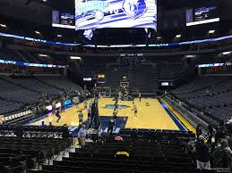 Fedexforum Seating Chart With Seat Numbers Fedex Forum Section 110 Memphis Grizzlies Rateyourseats Com