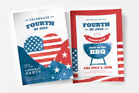 Modern 4th July Poster Templates In Psd Ai Vector Brandpacks