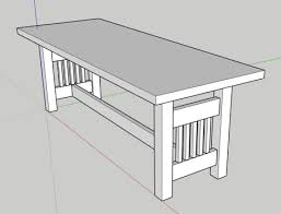 We have the cool resources for table plans. Mission Style Coffee Table The Craftsman S Notes Fine Craftsman Lumber
