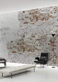 white brick walls