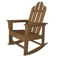 Long Island Recycled Plastic Adirondack Rocking Chair