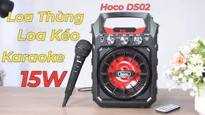 Loa Thùng, Loa Kéo, Loa Bluetooth Karaoke Hoco DS02 15W - Đa Năng - Giá Cực  Kì Tốt - YouTube