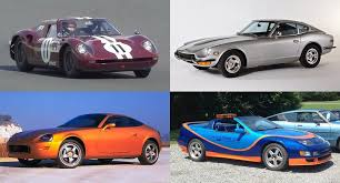 new z car releaseNissan displays quartet of historic sports cars  plus the new