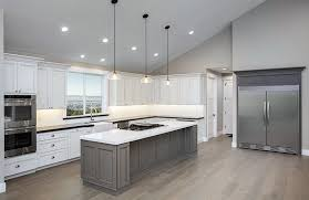 pendant lighting for vaulted ceilings. gray and white kitchen with large island pendant lights vaulted ceiling lighting for ceilings b