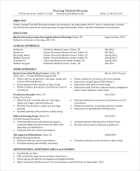 Sample Resume Objectives For Students Resume Objective Example 8 Samples In Pdf Word