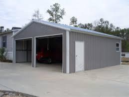 18 x 21 x 8 fully enclosed with 1 9 x 8 garage door