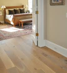 light oak wood flooring. Good Looking Home Interior Design With Wide Plank White Oak Wood Flooring : Delectable Image Of Light N