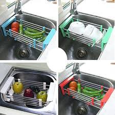 kitchen sink dish rack stainless steel telescopic kitchen sink dish rack insert storage organizer tray kitchen