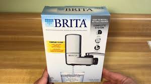 Brita On Tap Faucet Water Filtration System Chrome YouTube