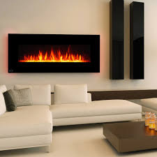 wall mount electric fireplace heater. Clevr 48\ Wall Mount Electric Fireplace Heater