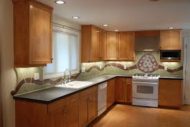 modern kitchen backsplash 2013. Glass Mosaic Subway Tile Design Ideas Mixed White Ceramic Green Tiled For Making Kitchen Backsplash Combined Modern 2013