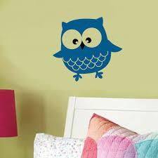 ollie owl vinyl wall decal