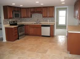 Kitchen Tile Floor Designs For Kitchens And 1950s Kitchen Design As Well As  Your Pleasant Kitchen