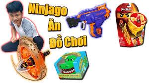 Tony | Thử Thách NINJAGO Ăn Đồ Chơi - Ninjago Get Toys - YouTube