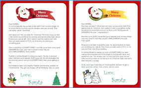 Free Letter From Santa Word Template Letter To Father Christmas Template Free Printable Letters
