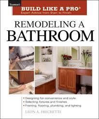 Bathroom Remodeling Books Cool Decorating Design