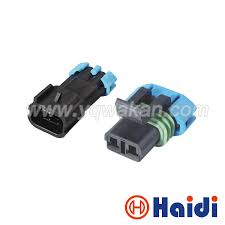 high quality wholesale delphi gm from china delphi gm wholesalers Six Wire Flat Connectors Delphi free shipping 5sets gm delphi 2 way male female sensor plug auto wire connector 15300002 15300027 Delphi Automotive Wire Connectors