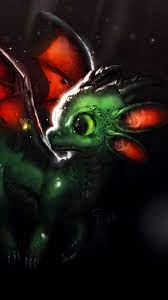 dragon, creature, cute, art ...