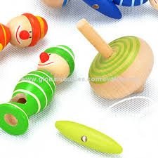 Wooden Spinning Top Game China 100 hot sale wooden whipping toy spinning top slide top 68