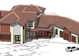 architecture house blueprints. Building House Plans Drawing Exterior . Small Multi-family Plans. Ranch Architecture Blueprints T