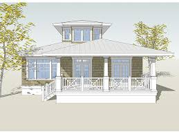 Small Beach House Plans on Pilings Image