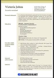 Microsoft Resume Templates 2018 Classy Executive Assistant Resume Examples 28 Resume 28