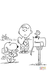 Small Picture Be My Valentine Charlie Brown Coloring Page With Coloring Page