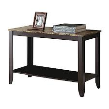 Office depot tables Office Furniture Monarch Specialties Marble Top Console Table Office Depot Monarch Specialties Marble Top Console Table Rectangle Cappuccino