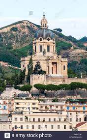 Church of Sacrario di Cristo Re Messina Province, Sicily, Italy Stock Photo  - Alamy