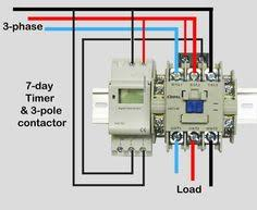 how to wire contactor block delay timer waterheatertimer wire motor control contactor waterheatertimer org how to