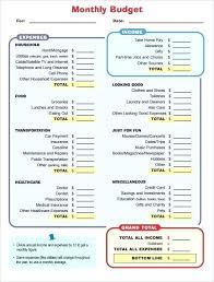 Budget Forms Pdf Business Budget Template Budget Template Pdf Financial Peace