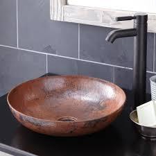 bathroom vessel sinks. maestro sonata petit bathroom sink in tempered (cps383) vessel sinks o