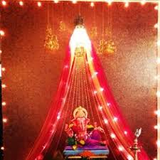 decorate your favourite corner or the pooja room with a simple or