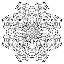 Mandala Coloring Sheets Hard Mandala Coloring Pages Mandala Art