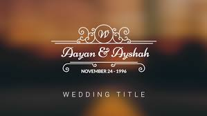 Wedding Title 10 Free Wedding Title Preset Pack For Premiere Pro