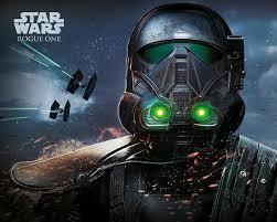 Rogue One Star Wars Story Death Trooper Glow Plakát Obraz Na Zeď Posterscz