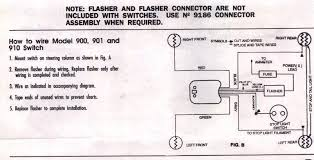wiring a signal stat 900 ford truck enthusiasts forums meyer snow plow wiring diagram for headlights at Truck Lite Plow Lights Wiring Diagram