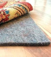 felt and rubber rug pad felt rug pad vs rubber review of rug pad extra thick