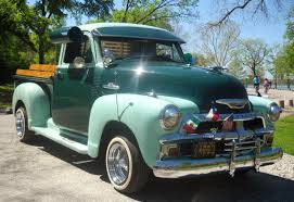 Chevy ½ ton SWB 3100 series, popular in the 1940's, early 1950's ...