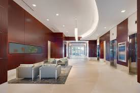 Office floor design Concrete Maple Lawn Business District Class a Office 8115 Maple Lawn Boulevard Lobby Ariumae Maple Lawn Business District Maple Lawn Md Office Space St John