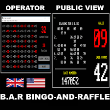 raffle software bingo and raffle random number selector dual screen software