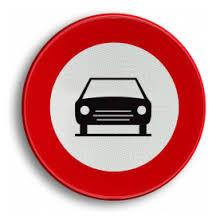 Afbeeldingsresultaat voor verboden auto's